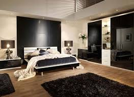 traditional bedroom ideas for men dark brown cubical nightstand