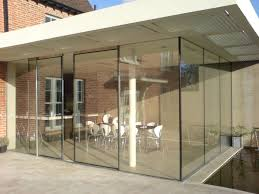 Triple Glazed Patio Doors Uk by Sl20 Classic Sliding Aluminium Glass Patio Doors Slimline Glazing