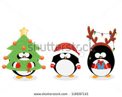 christmas penguin stock images royalty free images vectors