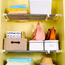 byn 5 poles expandable storage rack organizer 50 80cm for bathroom