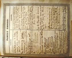 the williams sharp family bible