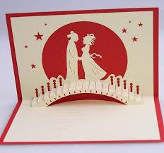 pop up wedding invitations best designs of handmade pop up wedding card handmade4cards