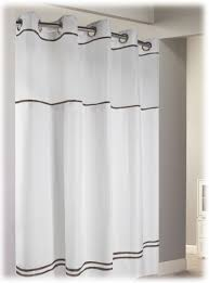 Hotel Shower Curtain With Snap In Liner Escape Hookless Hotel Shower Curtains 12case Hookless Shower