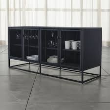 black buffets crate and barrel