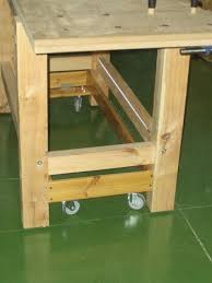 Retractable Workbench Wheels