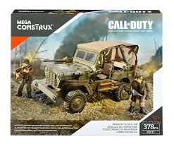 ww2 jeep amazon com mega construx call of duty infantry scout car building