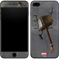mjolnir hammer of thor iphone 8 plus skin marvel