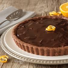 dark chocolate orange almond tart gluten grain dairy free