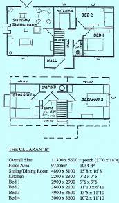 cluaran lochdhu cottages ltd self build kits floor plans