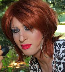crossdresser forced to get a bob hairstyle feminization panty slave strapped in silk forced feminization