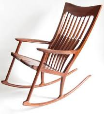 Wood Rocking Chair Henneford Fine Furniture Wooden Rocking Chairs Other