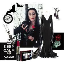 Morticia Addams Dress 48 50 Morticia Addams Polyvore