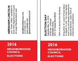 Business Card In Word Empowerla Neighborhood Council Elections U2014 Ann Marie Holman