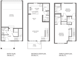 robson new home floor plan altius townhomes streetside