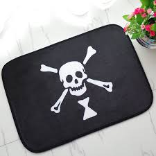 Skull Bathroom Accessories by Skull Bath Mat Promotion Shop For Promotional Skull Bath Mat On