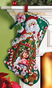 gingerbread picture frame 18 bucilla felt kit
