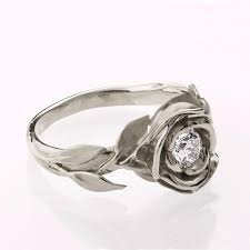engagement ring no 1 14k gold white and engagement - Of Thrones Engagement Ring