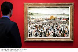 famous painters ls lowry the matchstick man artist