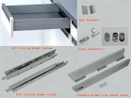 kitchen cabinet drawer parts kitchen drawer hardware popular cabinet slides designs throughout 10