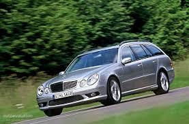 2004 mercedes station wagon mercedes e 55 amg t modell s211 specs 2004 2005 2006