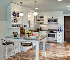 White Kitchen Black Countertop - 30 best small open kitchen designs that optimize both efficiency