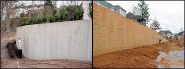 Design Concrete Retaining Wall Design Concrete Retaining Wall With - Concrete retaining walls design