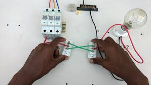 two way switch connection type 2 in tamil two way switch wiring