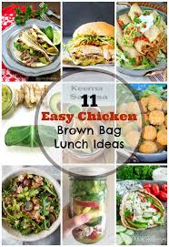 11 easy chicken brown bag lunch ideas trim your budget