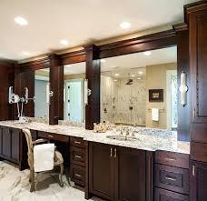 bathroom cabinet design ideas vanities 60 double sink vanity with makeup area double sink