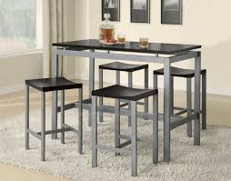 rectangle high top table high top kitchen table and chairs ideas simple minimalist dining