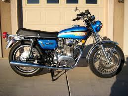 1973 yamaha tx650 650cc w five speed transmission vintage yamaha