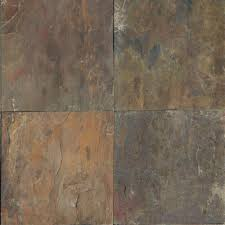 Roterra Slate Tiles by 12x12 Slate Tile Natural Stone Tile The Home Depot