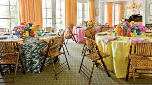 bridesmaid luncheon ideas bridal luncheon ideas showered in color southern living