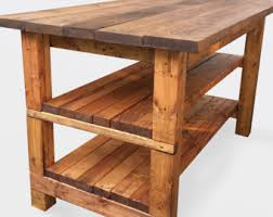 wooden kitchen island table work bench kitchen island outdoor table