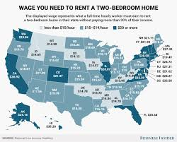 most affordable places to rent how much do you need to earn to rent an apartment in the us