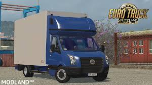 volkswagen tdi truck volkswagen crafter 2 5 tdi izoterma mod for ets 2