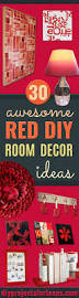 Awesome Diy Room Decor by 30 Brilliant Red Diy Room Decor Ideas Diy Projects For Teens