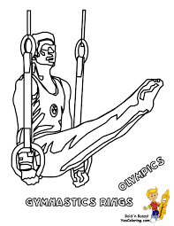 gymnastics coloring page sporty olympic coloring pages yescoloring free olympics sports