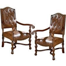 Armchair In Spanish Design Toscano Villandry Spanish Revival Armchair Wayfair