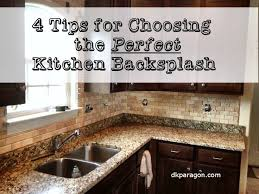 how to a kitchen backsplash how to choose kitchen backsplash 8143