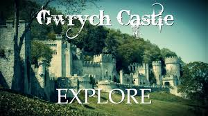 amazing derelict castle gwrych castle urban exploring youtube