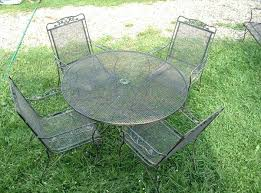 mesh wrought iron patio furniture iron mesh patio furniture view wrought iron mesh patio table