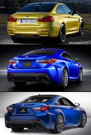 lexus ct200h vs bmw 3 series lexus rc f vs bmw m4 side by side pics clublexus lexus forum