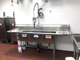 3 bay stainless steel sink 3 bay stainless steel sink patriot food serv whiteford