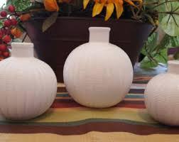 3 Vases Set Bud Vase Set Etsy