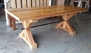 Woodworking Bench South Africa by Solid Reclaimed Oregon Farm Style Dining Table Tables For Sale