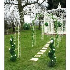 Trellis Arch Metal Garden Archway U2013 Exhort Me