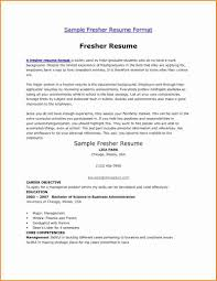 Teachers Resume Example 10 Fresher Teacher Resume Examples Invoice Template Download