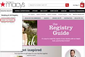 find someone s wedding registry how to create a wedding registry for the top retail stores