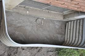 window well drainage problems and repairs